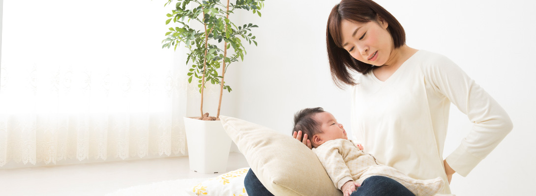 産後の恥骨痛