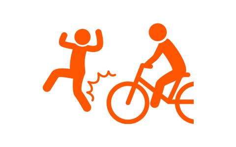 事例6.自転車での事故
